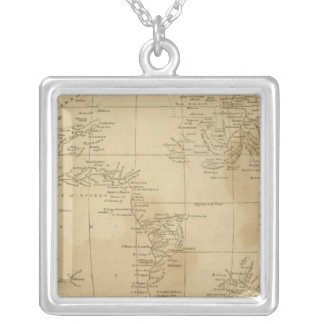 Africa 31 silver plated necklace