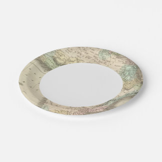 Africa 32 paper plate