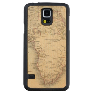 Africa 33 carved maple galaxy s5 case