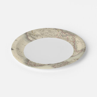 Africa 33 paper plate