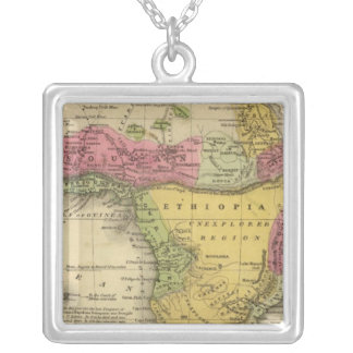 Africa 33 silver plated necklace