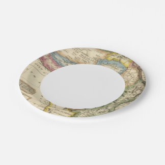 Africa 36 paper plate