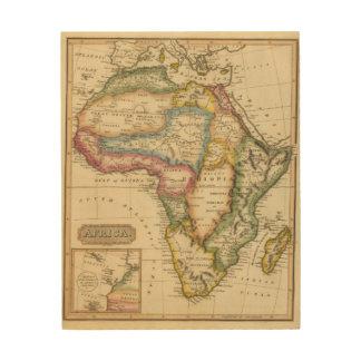 Africa 36 wood print