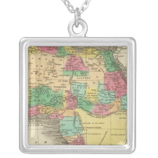 Africa 38 silver plated necklace