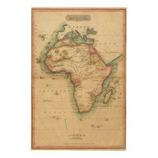Africa 43 wood wall decor