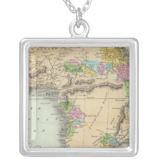 Africa 46 silver plated necklace