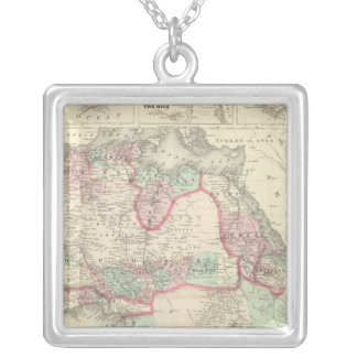 Africa 47 silver plated necklace