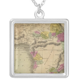 Africa 48 silver plated necklace