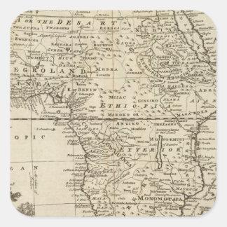 Africa 4 square sticker