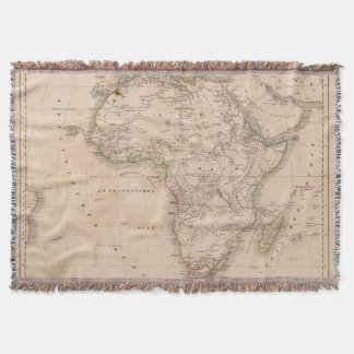 Africa 51 throw blanket