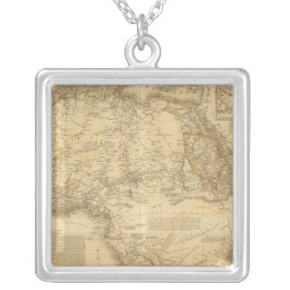 Africa 5 silver plated necklace