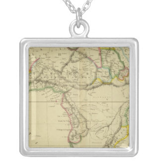Africa 6 silver plated necklace