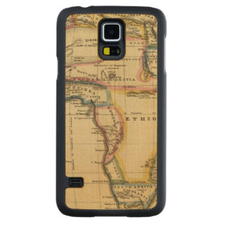 Africa 7 carved maple galaxy s5 case