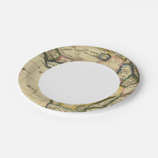 Africa 7 paper plate