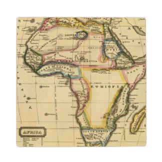Africa 7 wood coaster