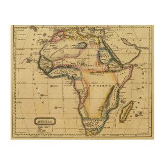 Africa 7 wood wall art