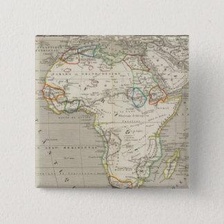 Africa 8 15 cm square badge