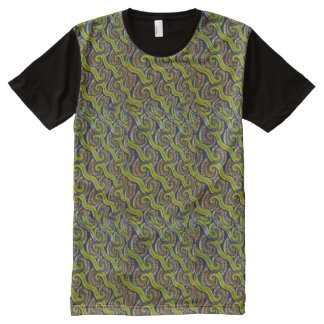 AFRICA ABTRACT PATTERN All-Over PRINT T-Shirt