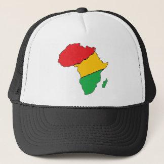 Africa African map rastafarian tie Trucker Hat