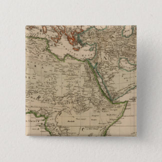 Africa and Asia 15 Cm Square Badge