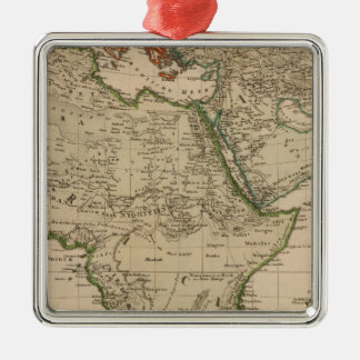 Africa and Asia Christmas Ornament