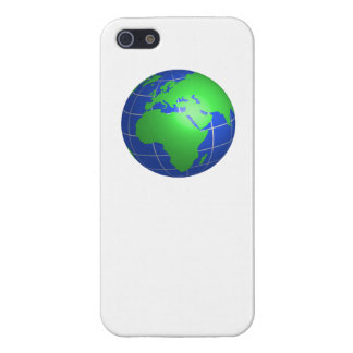 Africa and Europe Globe iPhone 5 Case