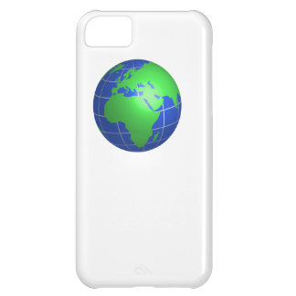 Africa and Europe Globe iPhone 5C Cases