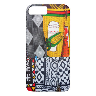 Africa, Angola, Benguela. Brightly Colored Pants iPhone 8 Plus/7 Plus Case