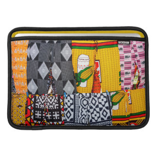 Africa, Angola, Benguela. Brightly Colored Pants Sleeve For MacBook Air