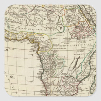 Africa Antiqua Square Sticker