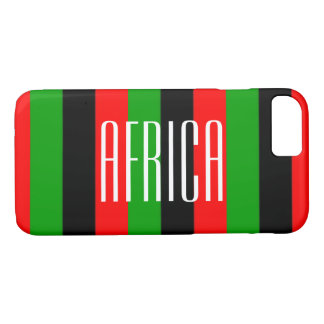 Africa Apple iPhone 7, Barely There iPhone Case