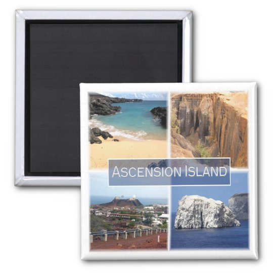 Africa * Ascension Island Magnet