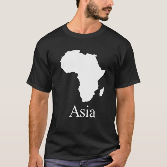 Africa Asia (for Darker colour shirts) T-Shirt