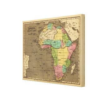 Africa, Atlantic Canvas Print