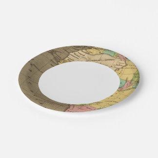Africa, Atlantic Paper Plate