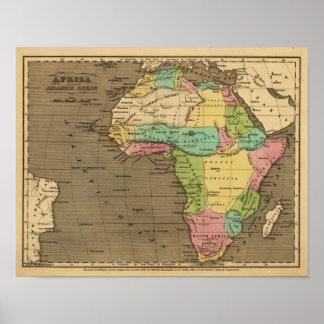 Africa, Atlantic Poster