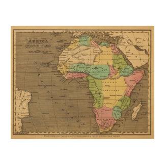 Africa, Atlantic Wood Print