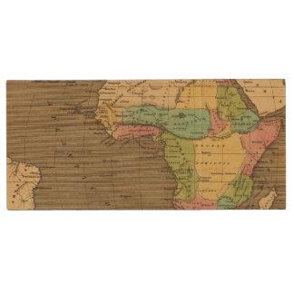 Africa, Atlantic Wood USB Flash Drive