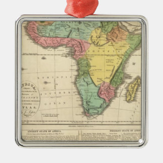 Africa Atlas Map 2 Christmas Ornament