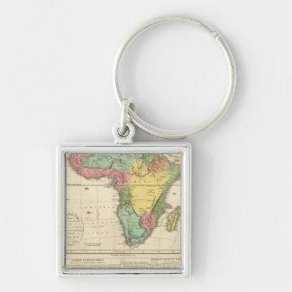 Africa Atlas Map 2 Key Ring