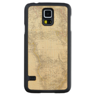 Africa Atlas Map Carved Maple Galaxy S5 Case