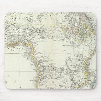 Africa Atlas Map Mouse Mat