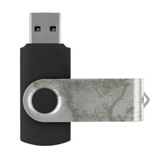 Africa Atlas Map USB Flash Drive