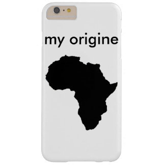 africa barely there iPhone 6 plus case