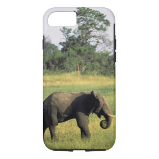 Africa, Botswana, Chobe National Park. Elephant iPhone 8/7 Case