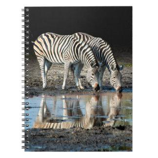 Africa,Botswana, Okavango Delta, Davison Camp Spiral Notebook