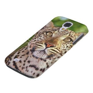 Africa, Botswana, Okvango Delta, wild leopard. Galaxy S4 Case