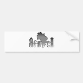 Africa Car Bumper Sticker