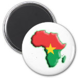 AFRICA: BURKINA FASO MAGNETS