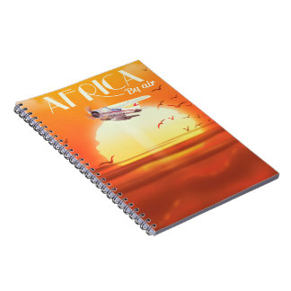 Africa By Air Note Book